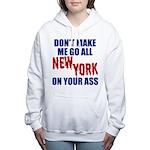 New York Football Women's Hooded Sweatshirt