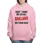 Oakland Football Women's Hooded Sweatshirt