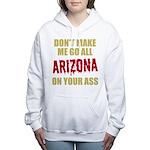 Arizona Baseball Women's Hooded Sweatshirt