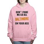 Baltimore Baseball Women's Hooded Sweatshirt