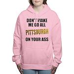 Pittsburgh Baseball Women's Hooded Sweatshirt