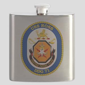 USS Ross DDG-71 Flask