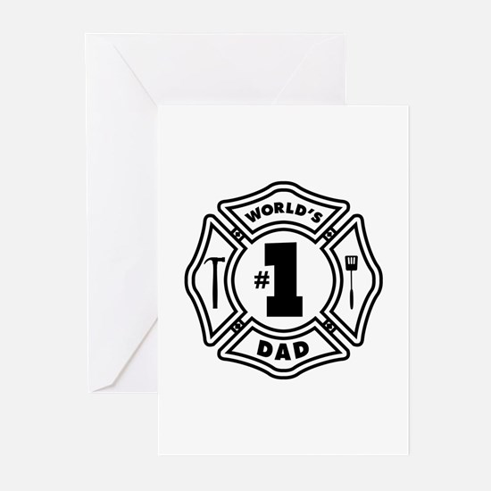 FD DAD Greeting Cards (Pk of 10)