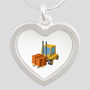 Forklift Lifting Machinery Necklaces