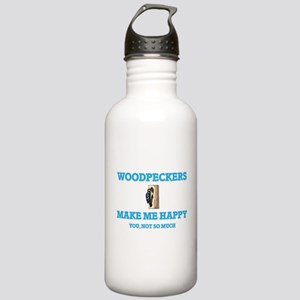 Woodpeckers Make Me Ha Stainless Water Bottle 1.0L