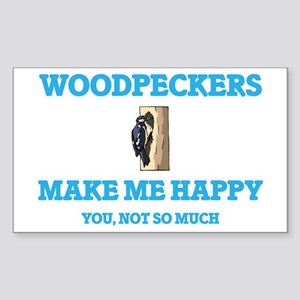 Woodpeckers Make Me Happy Sticker