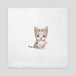 Cat Kitten Kitty Animal Queen Duvet