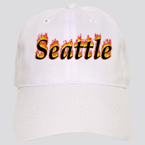 Seattle Flame Baseball Cap