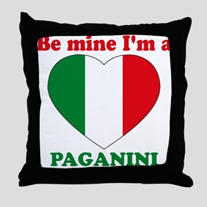 Paganini, Valentine's Day Throw Pillow