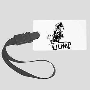 EQUESTRIAN JUMP Large Luggage Tag