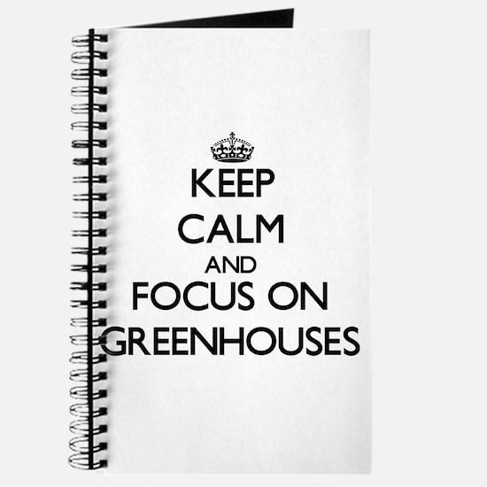 Cute Greenhouse Journal