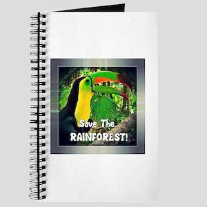 SAVE the RAINFOREST! Journal
