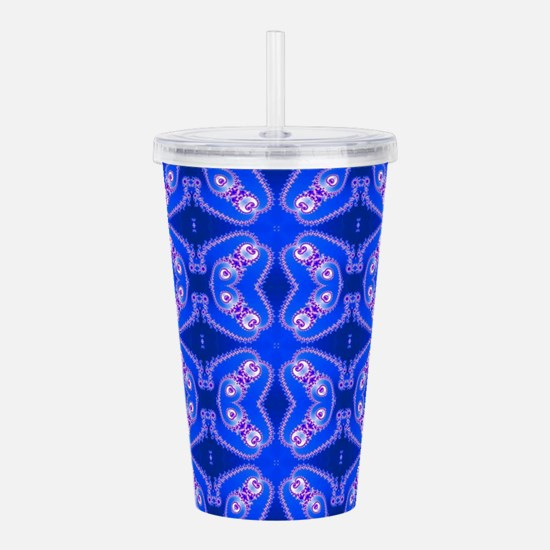 Cool Modern science Acrylic Double-wall Tumbler