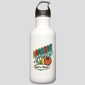 RETRO BOWLING Stainless Water Bottle 1.0L