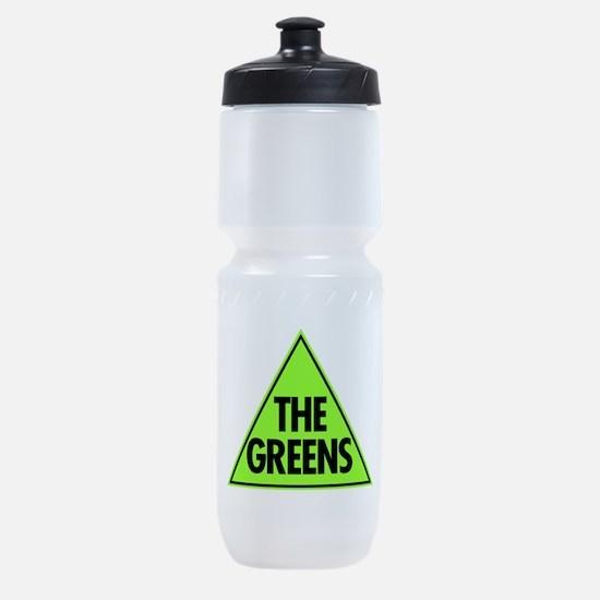 Green Party Logo Sports Bottle