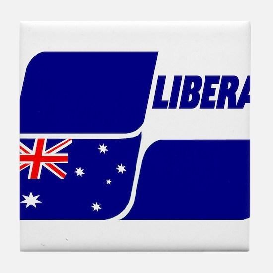 Liberal Party Logo Tile Coaster