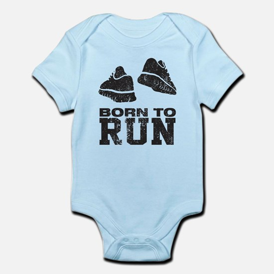 Born To Run Infant Bodysuit