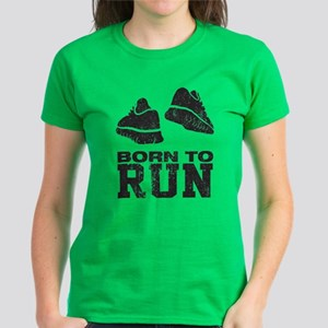Born To Run Women's Dark T-Shirt