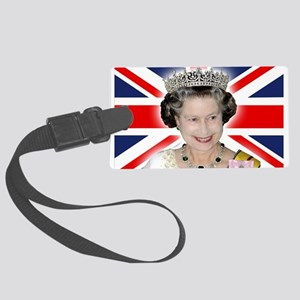 HM Queen Elizabeth II Large Luggage Tag