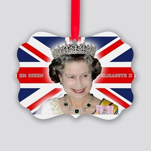 HM Queen Elizabeth II Picture Ornament