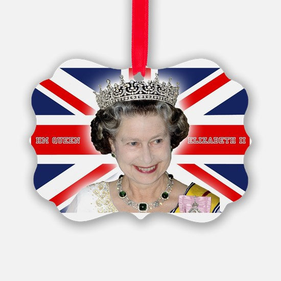 HM Queen Elizabeth II Ornament