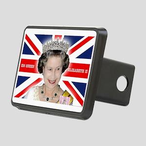 HM Queen Elizabeth II Rectangular Hitch Cover