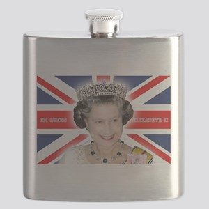 HM Queen Elizabeth II Flask