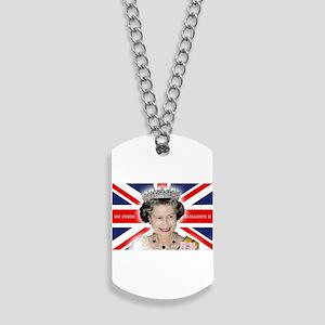 HM Queen Elizabeth II Dog Tags