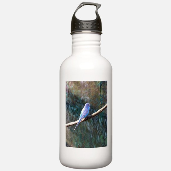 Cool Yellow budgie Water Bottle