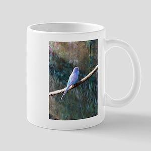 Blue Budgie Mugs