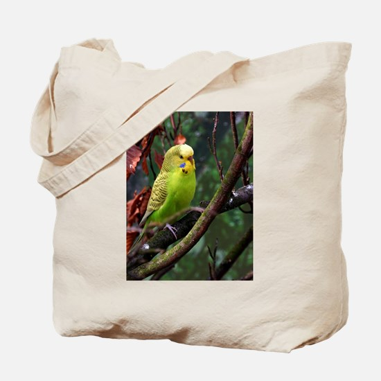 Funny Budgerigar Tote Bag