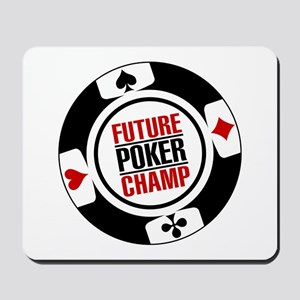 Future Poker Champ Mousepad