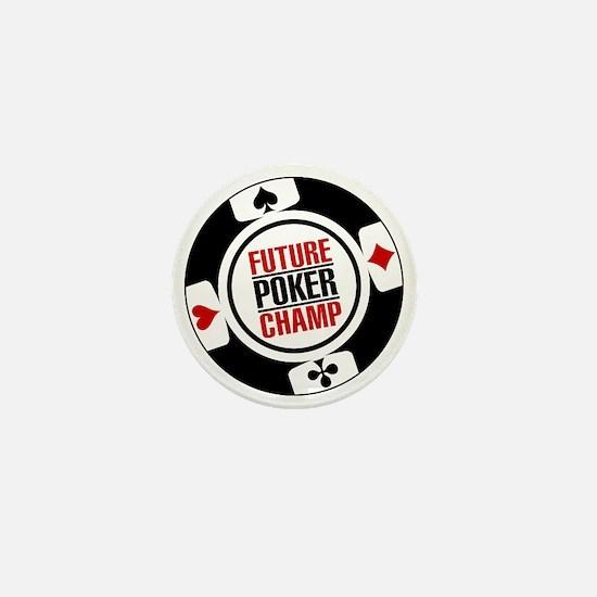 Future Poker Champ Mini Button