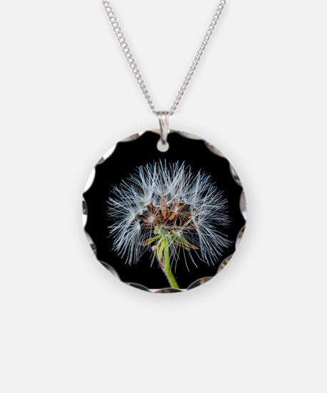 Funny Dandelion seeds blowing in the wind Necklace