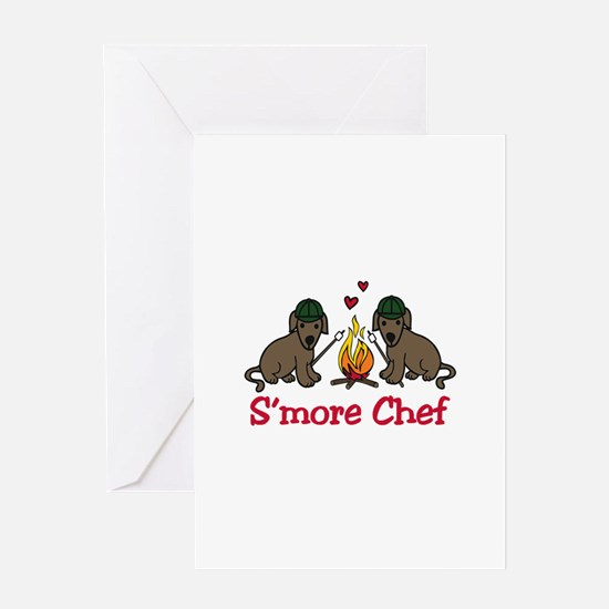 Smore Chef Greeting Cards