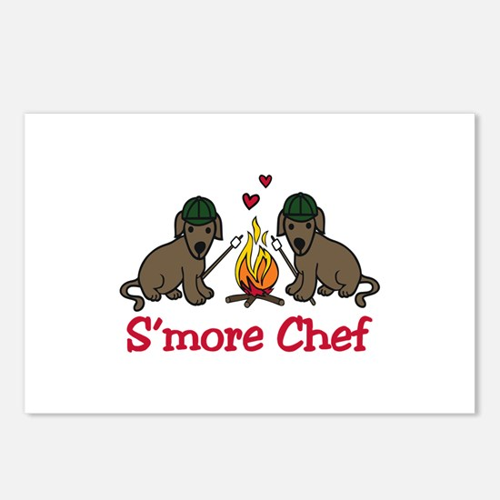 Smore Chef Postcards (Package of 8)