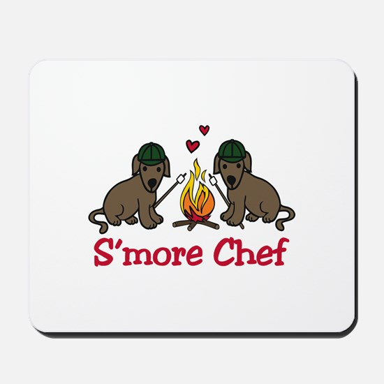 Smore Chef Mousepad