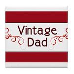 Vintage Dad Tile Coaster