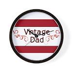 Vintage Dad Wall Clock