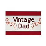 Vintage Dad Rectangle Magnet