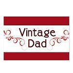 Vintage Dad Postcards (Package of 8)