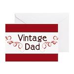 Vintage Dad Greeting Cards (Pk of 10)