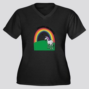 Unicorns are Magical Plus Size T-Shirt
