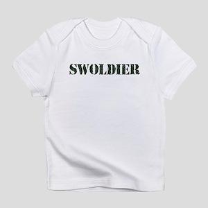 Swoldier Swole US Soldier Infant T-Shirt