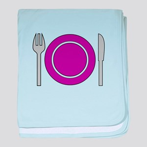 Place Setting baby blanket