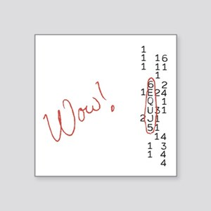 Wow Signal SETI Message Sticker