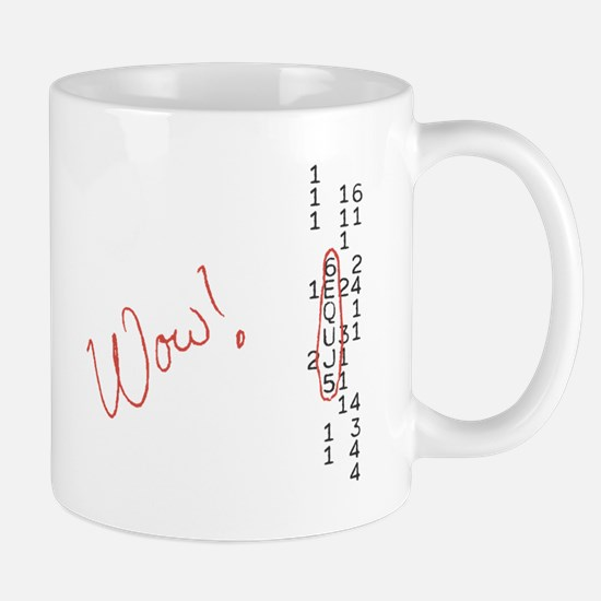 Wow Signal SETI Message Mugs