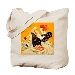 The Sunday Morning Flapper Tote Bag