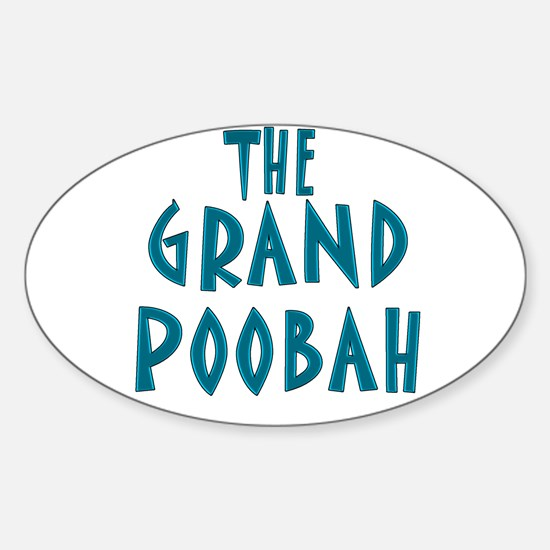 Grand Poobah Oval Decal