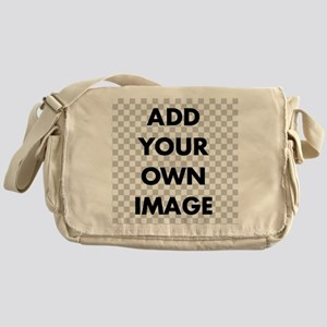 Custom Add Image Messenger Bag
